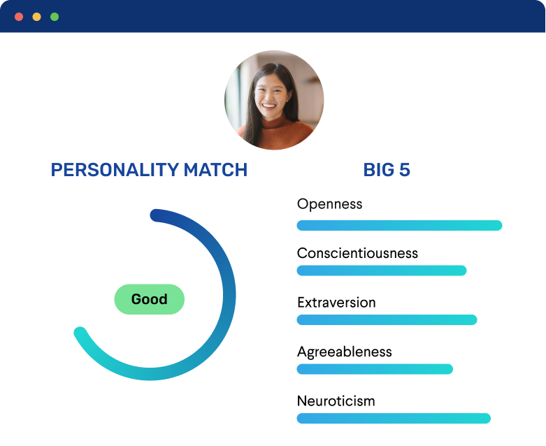 Frame 220Personality Assessment