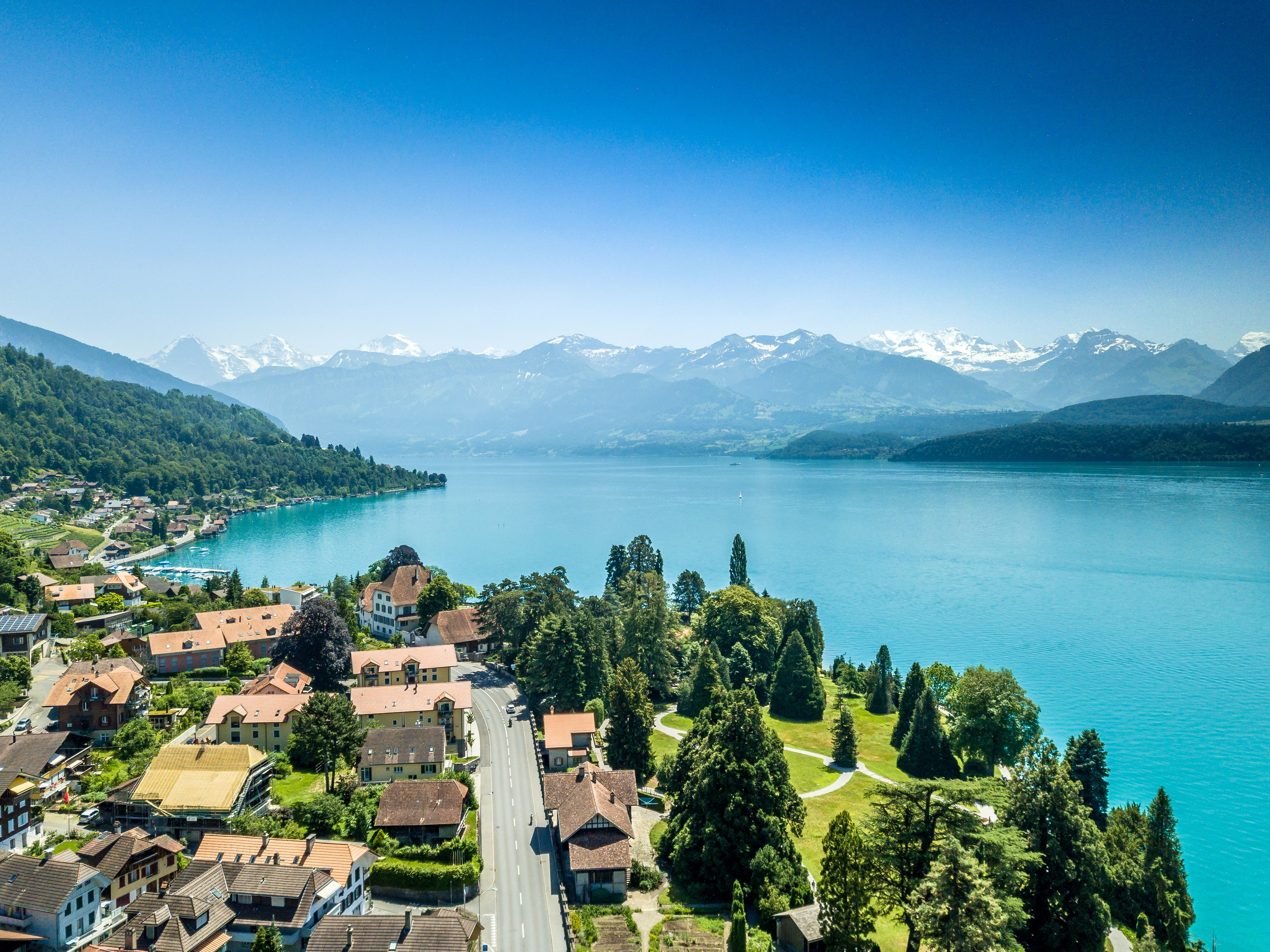 swiss town by the lake; pre-employment assessment