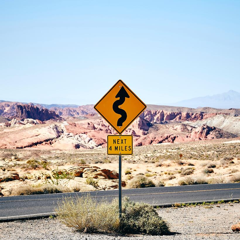 a sign in the desert; pre-employment assessment