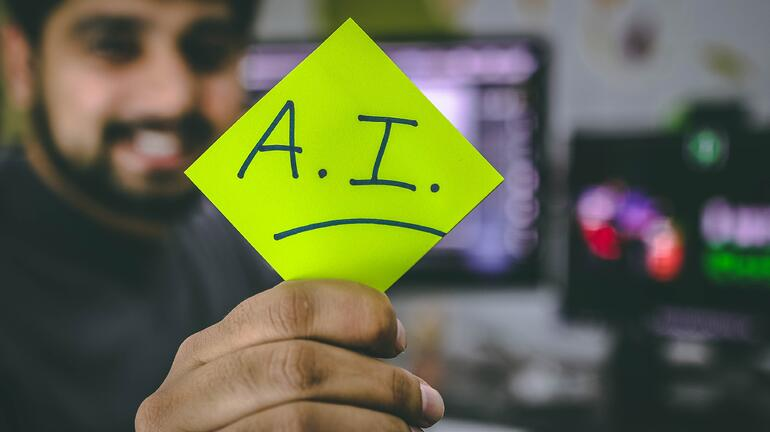 A post it note on AI; pre-employment testing