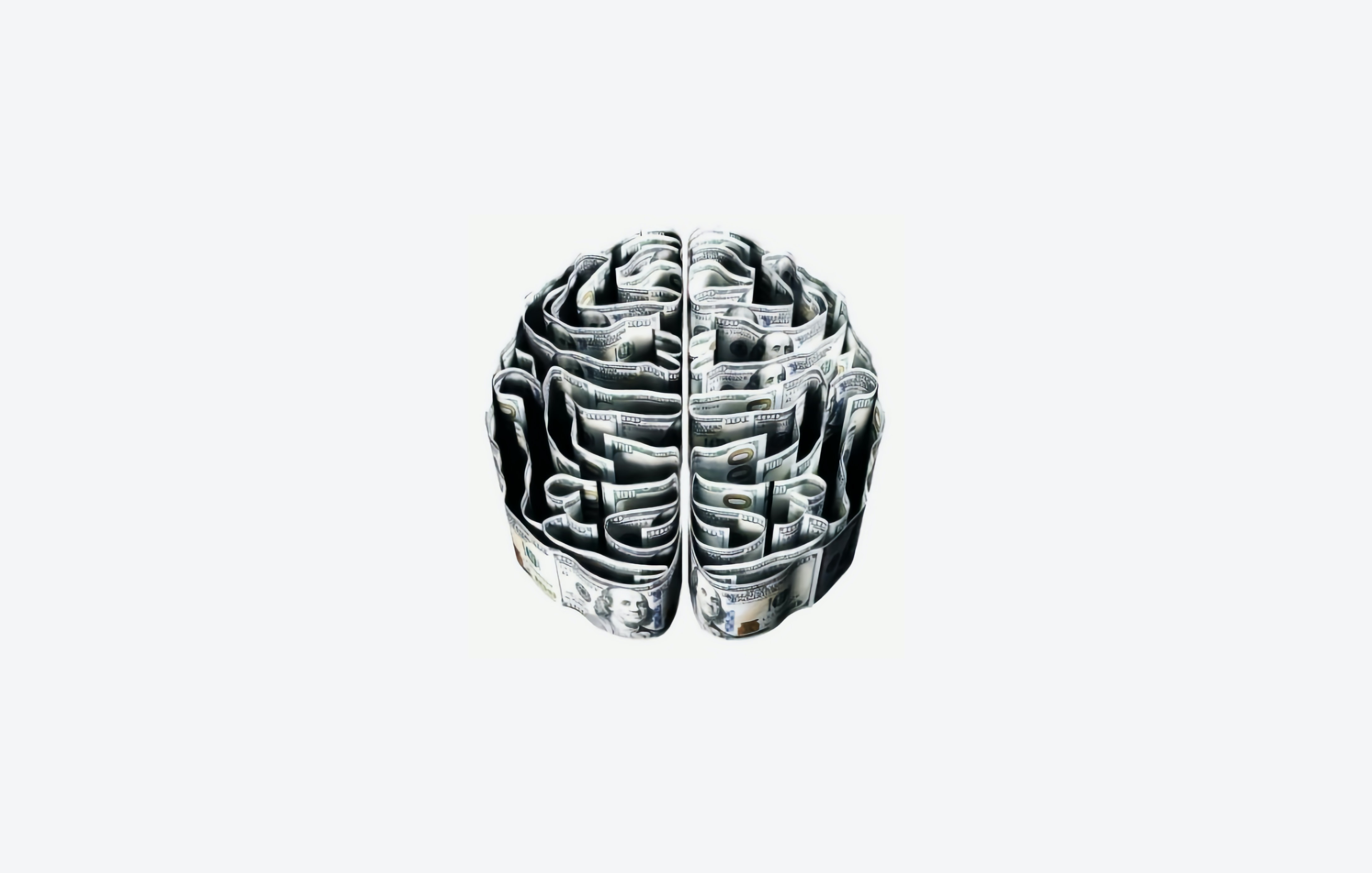 a brain composed of dollar bills; pre-employment assessment