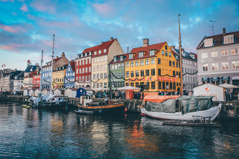 Danish houses near the river; pre-employment assessment