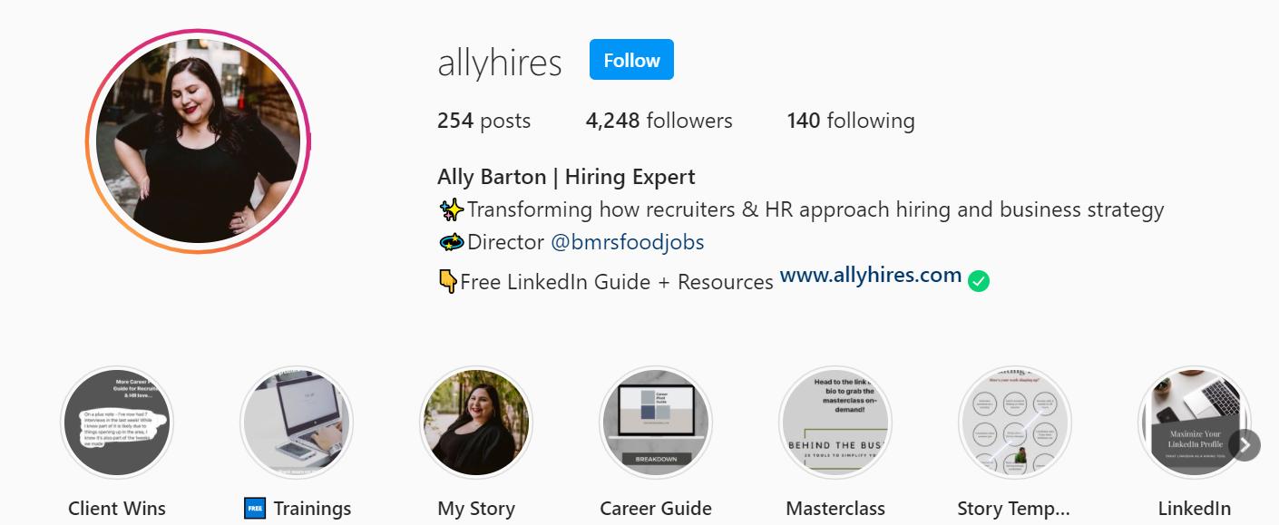 Allyhires; retention strategies