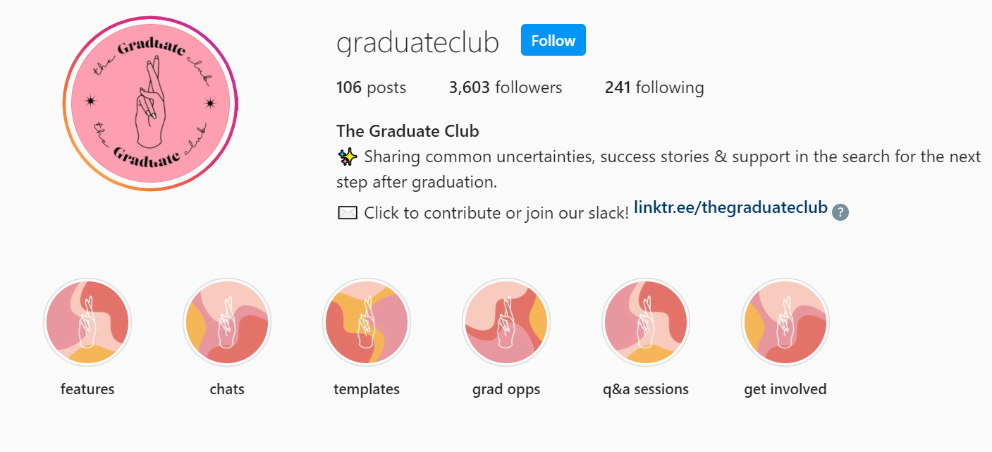 graduateclub;retention strategies